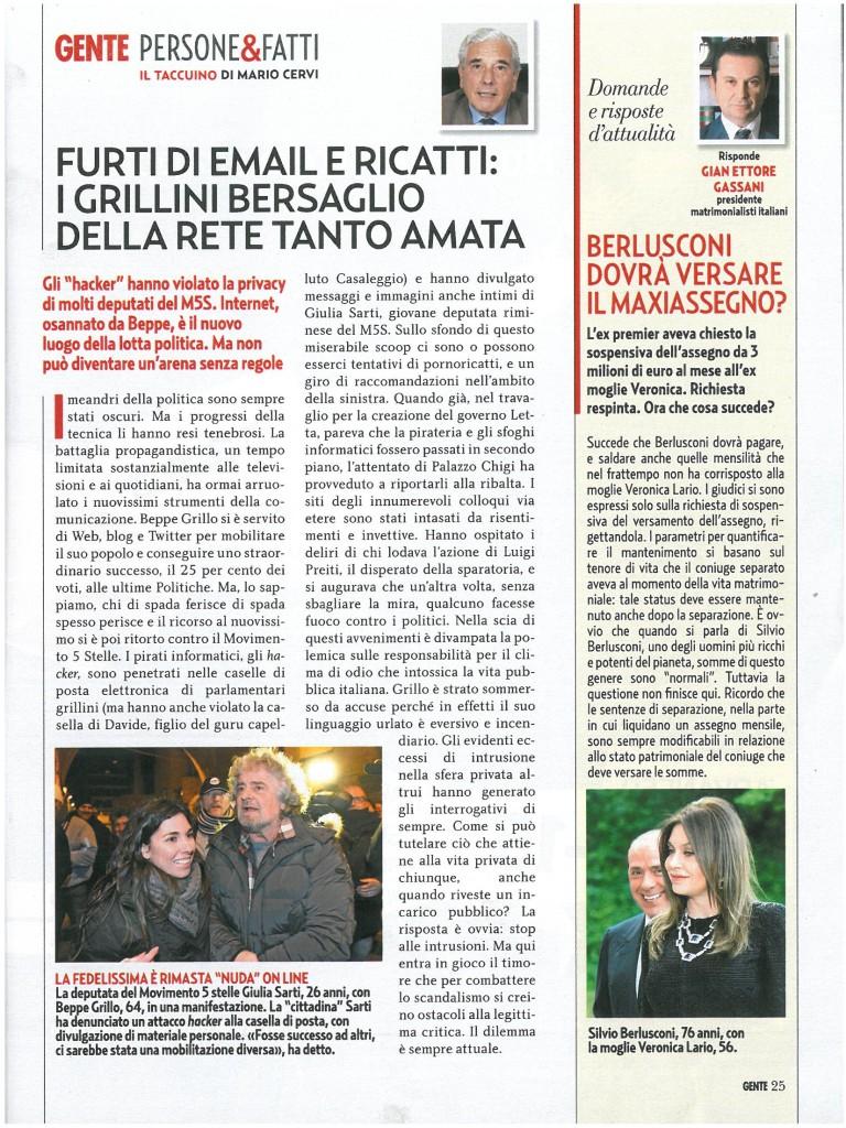 Gente-768x1024 Berlusconi dovrà versare il MaxiAssegno?