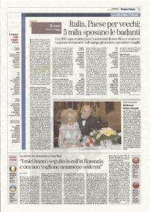 La-stampa-213x300 Italia, Paese per vecchi: 5 mila sposano le badanti