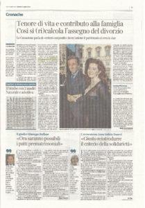 corrieredellasera12luglio-209x300 Tenore di vita e contributo alla famiglia. Cosi si (ri)calcola l'assegno del divorzio