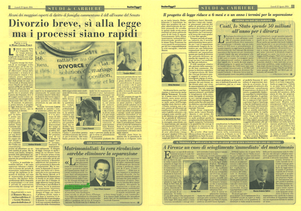 italia-oggi-25-8-2014-1024x718 Matrimonialisti: la vera rivoluzione sarebbe eliminare la separazione