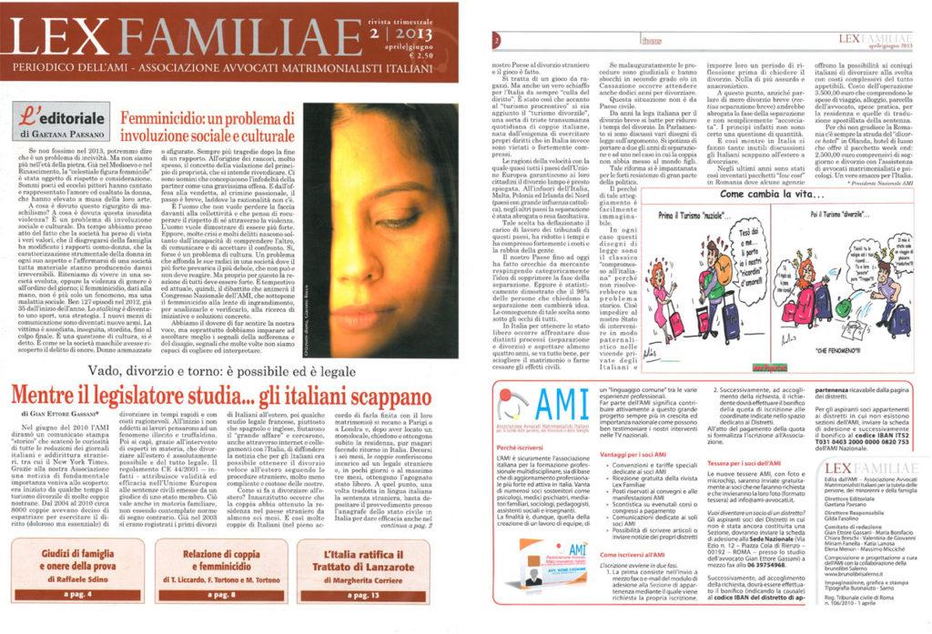 lexFAMILIAE-n2-2013-1024x697 Mentre il legislatore studia... gli italiani scappano