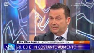 """gassani-vita-1-300x169 L'avvocato matrimonialista Gassani intervistato a """"La vita in diretta"""""""