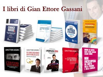 Il libri dell'avvocato matrimonialista Gian Ettore Gassani