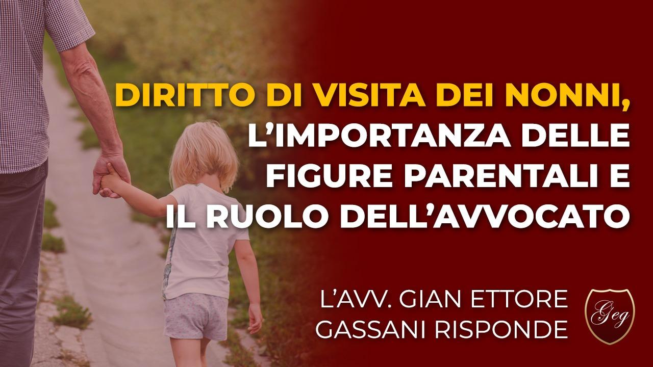 Diritto di visita dei nonni, l'importanza delle figure parentali e il ruolo dell'avvocato
